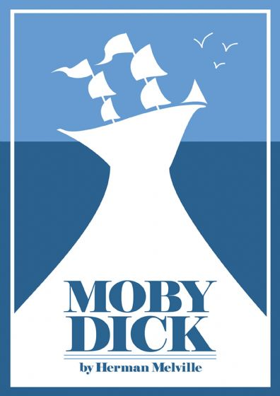 Moby Dick. Classic Book Art Print/Poster. Sizes: A4/A3/A2/A1 (002421)